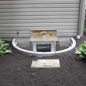 Egress Basement Window | Area Waterproofing | Omro, Wisconsin