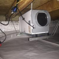 Crawl Space Dehumidifier | Area Waterproofing & Concrete | Wisconsin