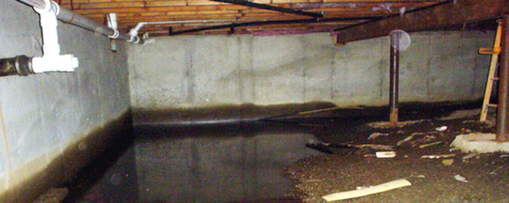 Crawl Space Waterproofing | Area Waterproofing & Concrete | Oshkosh Wisconsin