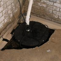 The Guardian Around Sump Pump | Area Waterproofing & Concrete | Wisconsin
